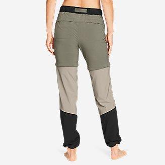 Thumbnail View 2 - Women's ClimaTrail Zip-Off Pants - Color Block