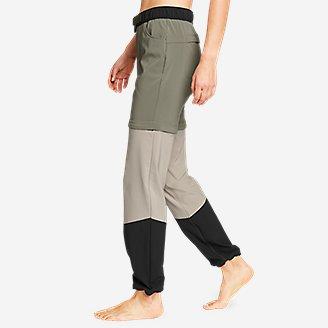 Thumbnail View 3 - Women's ClimaTrail Zip-Off Pants - Color Block