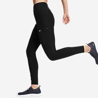 Thumbnail View 3 - Women's Trail Tight Hybrid High-Rise Leggings