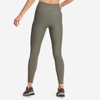 Thumbnail View 2 - Women's Trail Tight Hybrid High-Rise Leggings