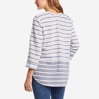 Thumbnail View 2 - Women's Beach Light Linen 3/4-Sleeve Tunic