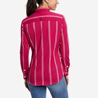 Thumbnail View 2 - Women's Girl On The Go™ Long-Sleeve Shirt - Classic Fit