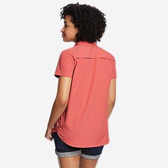 Thumbnail View 2 - Women's Mountain Ripstop Short-Sleeve Shirt
