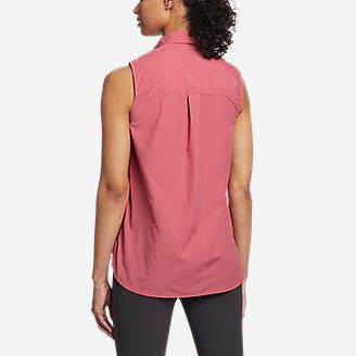 Thumbnail View 2 - Women's Mountain Ripstop Sleeveless Shirt