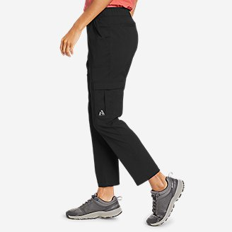 Thumbnail View 3 - Women's Guide Ripstop Cargo Ankle Pants