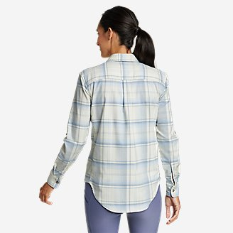 Thumbnail View 2 - Women's Expedition Pro Long-Sleeve Flannel Shirt