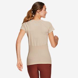 Thumbnail View 2 - Women's Seamless Short-Sleeve Crew T-Shirt