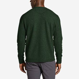 Thumbnail View 2 - Men's Eddie's Favorite Thermal Crew Shirt