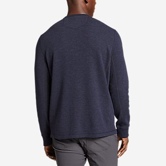Thumbnail View 2 - Men's Eddie's Favorite Thermal Henley Shirt