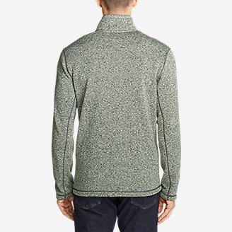 Thumbnail View 2 - Men's Radiator Fleece Snap Mock Neck