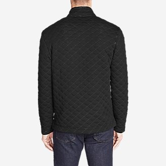 Thumbnail View 2 - Men's Fortify Quilted 1/4-Zip Pullover