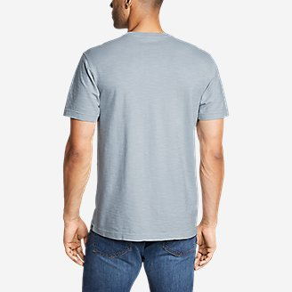 Thumbnail View 2 - Men's Legend Wash Short-Sleeve Slub Pocket T-Shirt