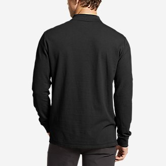 Thumbnail View 2 - Men's Classic Field Pro Long-Sleeve Polo Shirt