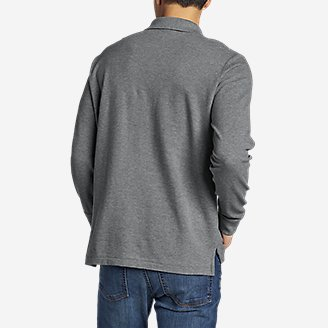 Thumbnail View 2 - Men's Classic Field Pro Long-Sleeve Polo