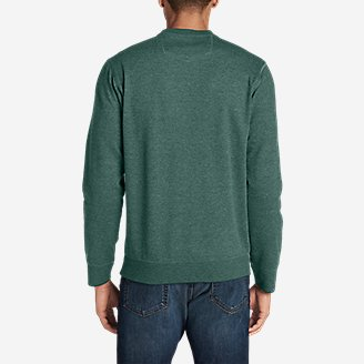 Thumbnail View 2 - Men's Camp Fleece Crew Sweatshirt