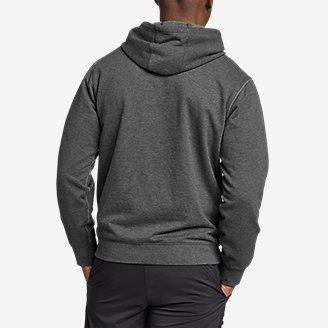 Thumbnail View 2 - Men's Camp Fleece Pullover Hoodie