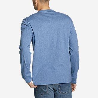 Thumbnail View 2 - Men's Legend Wash Pro Long-Sleeve Pocket T-Shirt
