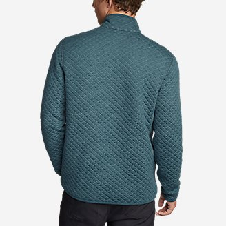 Thumbnail View 2 - Men's Fortify Quilted 1/4-Zip