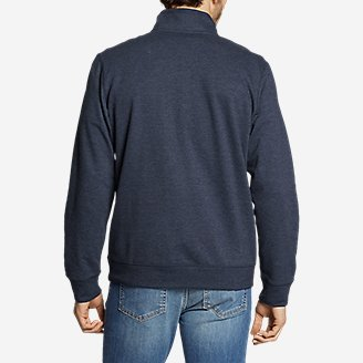 Thumbnail View 3 - Men's Camp Fleece 1/4-Zip