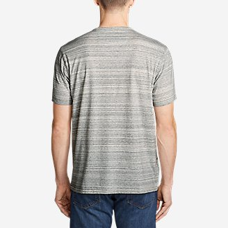 Thumbnail View 2 - Men's Legend Wash Pro Short-Sleeve Henley - Space Dye
