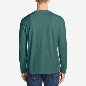 Thumbnail View 2 - Men's Legend Wash Slub Long-Sleeve T-Shirt