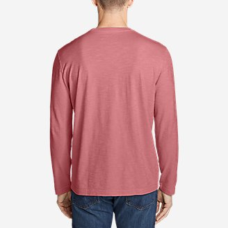 Thumbnail View 2 - Men's Legend Wash Slub Long-Sleeve T-Shirt