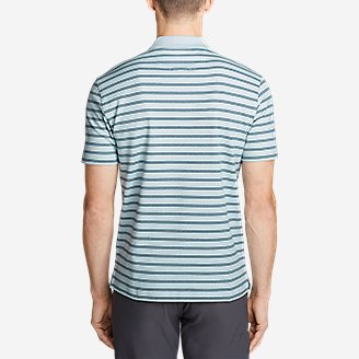 Thumbnail View 2 - Men's Voyager 2.0 Short-Sleeve Polo Shirt - Stripe