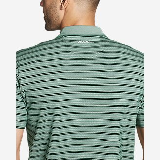 Thumbnail View 3 - Men's Voyager 2.0 Short-Sleeve Polo Shirt - Stripe