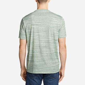 Thumbnail View 2 - Men's Legend Wash Pro T-Shirt - Space Dye