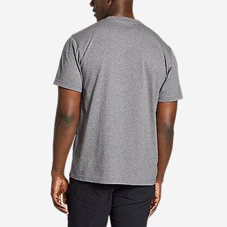 Thumbnail View 2 - Men's Legend Wash Pro Short-Sleeve V-Neck T-Shirt