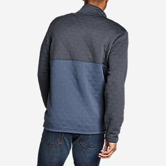 Thumbnail View 2 - Men's Eddie Bauer Expedition Quilted 1/2-Zip
