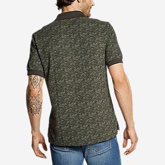 Thumbnail View 2 - Men's Field Pro Polo Shirt - Print