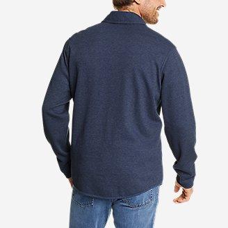 Thumbnail View 2 - Men's Sherpa-Lined Thermal Shirt