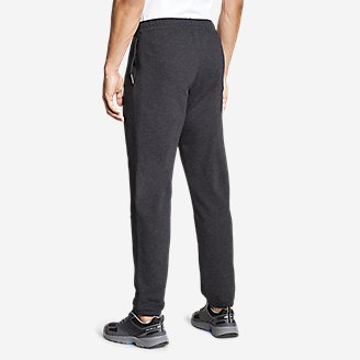 Thumbnail View 2 - Men's Camp Fleece Jogger Pants