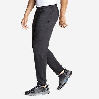 Thumbnail View 3 - Men's Camp Fleece Jogger Pants