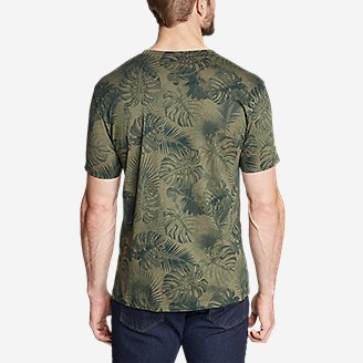 Thumbnail View 2 - Men's Graphic T-Shirt - Please Leaf