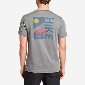 Thumbnail View 2 - Men's Graphic T-Shirt - Hike Up