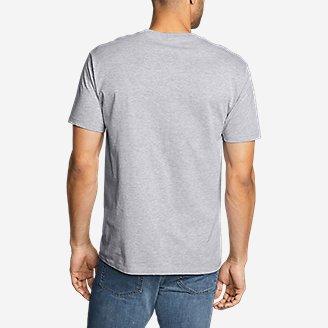 Thumbnail View 2 - Men's Graphic T-Shirt - Patriot Flame