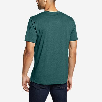 Thumbnail View 2 - Men's Graphic T-Shirt - Americana Mountain