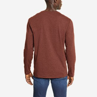 Thumbnail View 2 - Men's Adventurer®  Long-Sleeve Henley