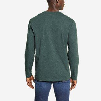 Thumbnail View 2 - Men's Adventurer®  Long-Sleeve Henley