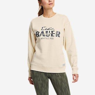 Thumbnail View 3 - Men's Eddie Bauer Signature Sweatshirt