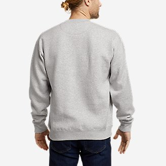 Thumbnail View 2 - Men's Eddie Bauer Signature Logo Sweatshirt