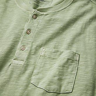 Thumbnail View 3 - Men's Earth Wash Slub Short-Sleeve Pocket T-Shirt