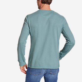Thumbnail View 2 - Men's Eddie's Favorite Ultrasoft Thermal Henley