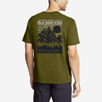 Thumbnail View 2 - Men's Graphic T-Shirt - Mount Bauer