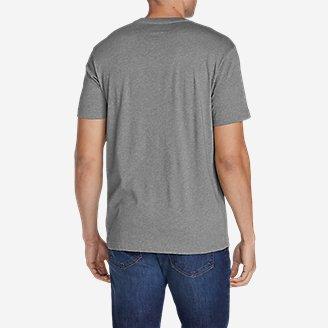 Thumbnail View 2 - Men's Graphic T-Shirt - Red, White & Blue Squatch