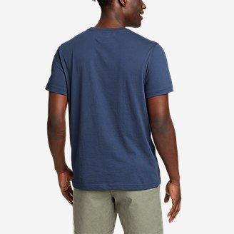 Thumbnail View 2 - Men's Graphic T-Shirt - Retro USA