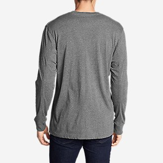 Thumbnail View 2 - Men's Legend Wash Long-Sleeve T-Shirt - Classic Fit