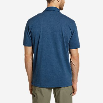 Thumbnail View 2 - Men's En Route Short-Sleeve Polo Shirt